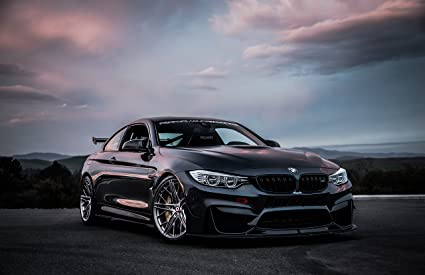 Bmw M4 Coupe >> Amazon Com Bmw M4 Coupe F82 By Revozport 2016 Car Print