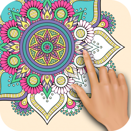 Mandala Coloring Games -