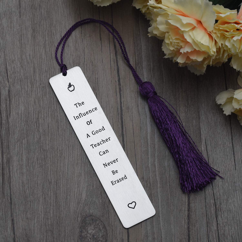 regalo de alumno especial para profesores regalo de asistente de ense/ñanza Marcap/áginas para profesores regalo de agradecimiento