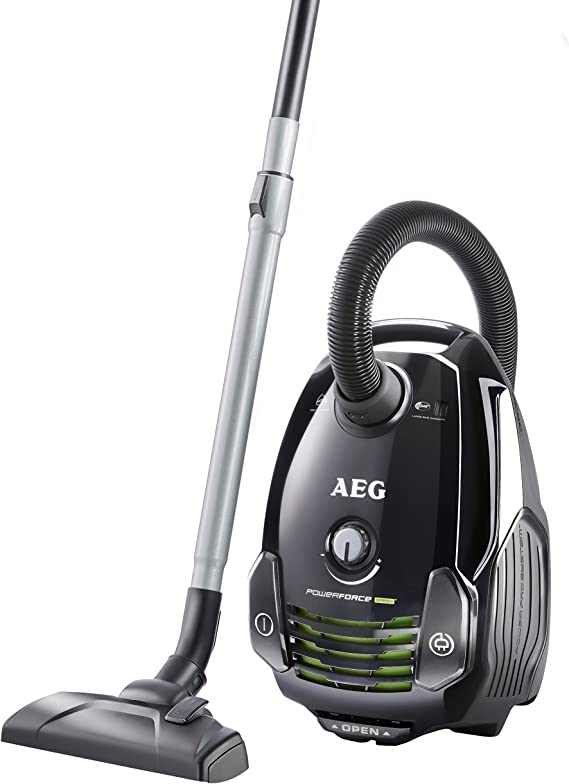 AEG PowerForce APF6140 - Aspiradora (700 W, A, 25,2 kWh, Cilindro, Bolsa para el polvo, Metal): Amazon.es: Hogar