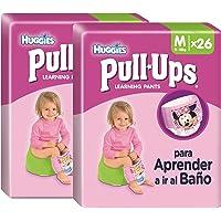 Huggies Pull-Ups Calzoncillos de Aprendizaje para Niña, 26