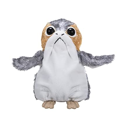 Amazon.com  Star Wars  The Last Jedi PORG Electronic Plush  Toys   Games a48f70db6cf3
