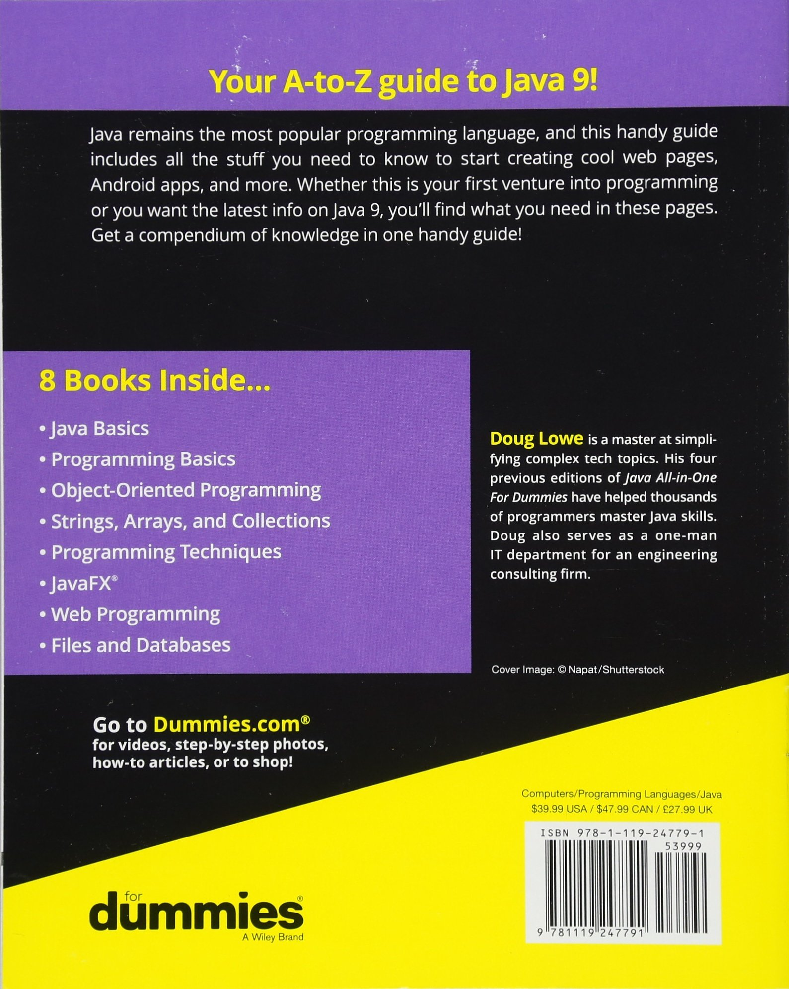Java All-in-One For Dummies (For Dummies (Computers)): Amazon.co.uk: Doug  Lowe: 9781119247791: Books