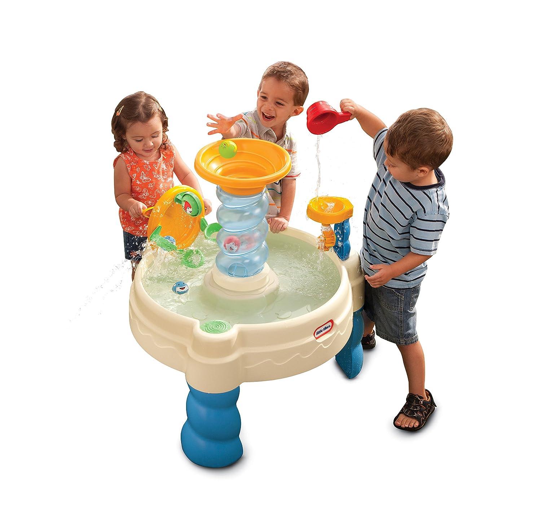 Amazon Little Tikes Spiralin Seas Waterpark Play Table Toys