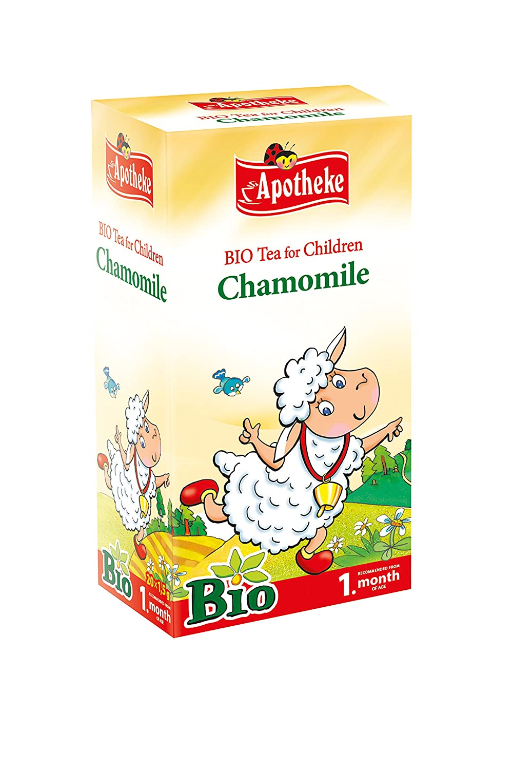 Apotheke Organic Chamomile Tea for Children - 20 tea bags natural remedies for babies Natural Remedies for Babies – Help your baby get a good night's sleep 81I 2BUTui90L