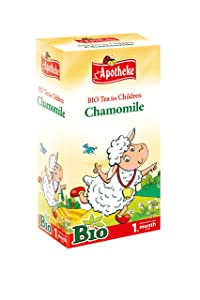 Apotheke Organic Chamomile Tea for Children - 20 tea bags natural remedies for babies - 81I 2BUTui90L - Natural Remedies for Babies – Help your baby get a good night's sleep