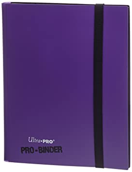Ultra Pro 9-Pocket Purple PRO-Binder