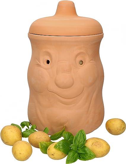 Mambocat olla para patatas Karl, Tarro de terracota para guardar ...