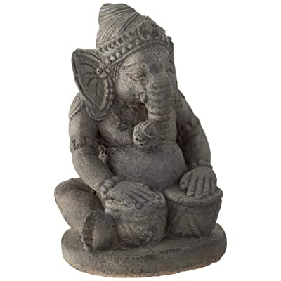 Repose ST10231785 Tabla Ganesha Outdoor Statues : Garden & Outdoor