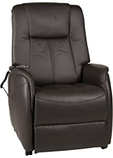 Relaxsessel günstig  Fernsehsessel XL braun Leder Relaxsessel TV Sessel mit ...