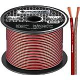InstallGear 16 Gauge Speaker Wire Cable, 100 feet