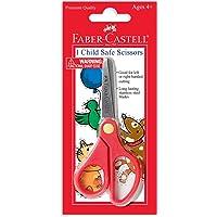 Faber-Castell Child Safe Scissors - Safety Scissors for Kids