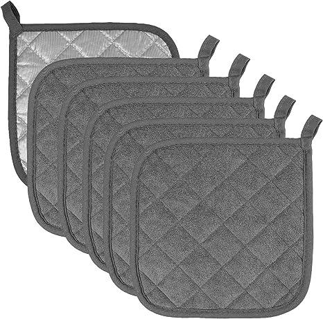 alpha-grp.co.jp 4, Black Hot Pads Trivet for Cooking and Baking ...