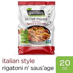 Gardein GARDEIN Skillet Meal Italian Sausage Pasta, 20 Ounce (frozen)