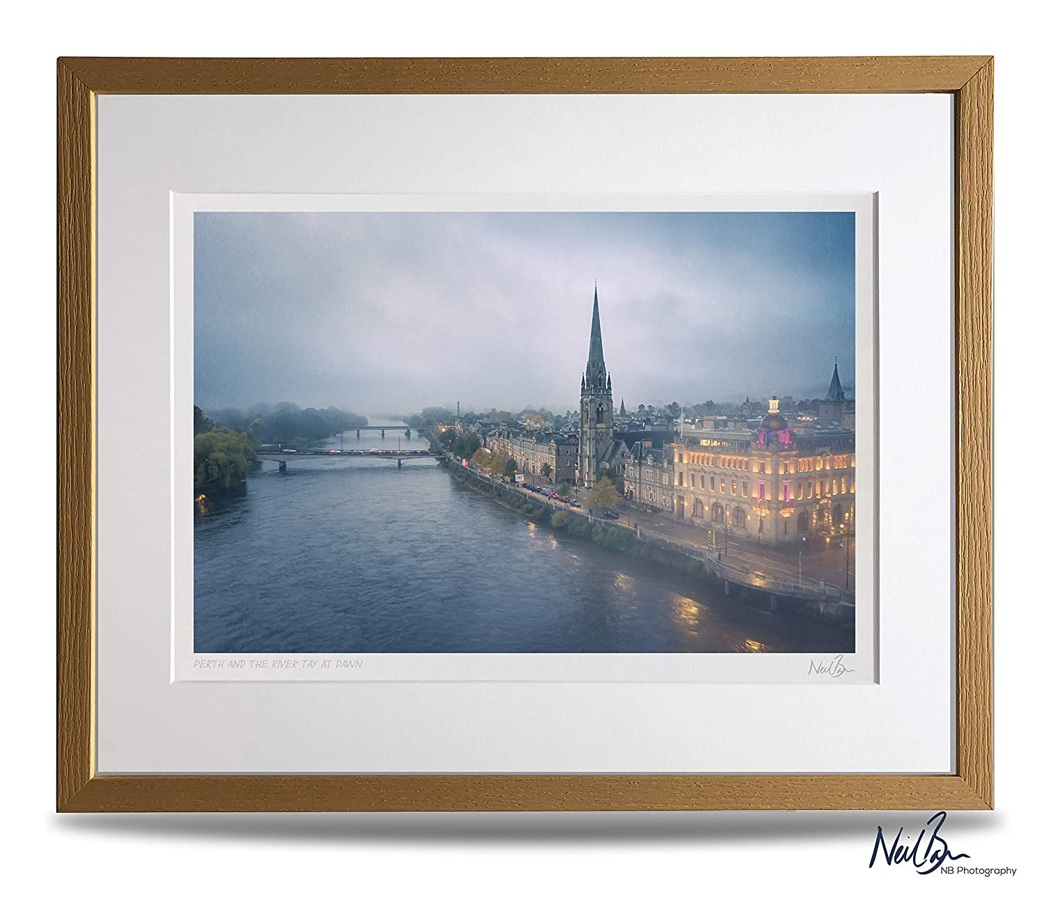 A1 Perth /& River Tay Scotland A1 Unframed Scottish Fine Art Photo Print by Neil Barr of NB Photography