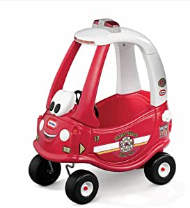 Little Tikes Ride and Rescue Cozy Coupe , Red