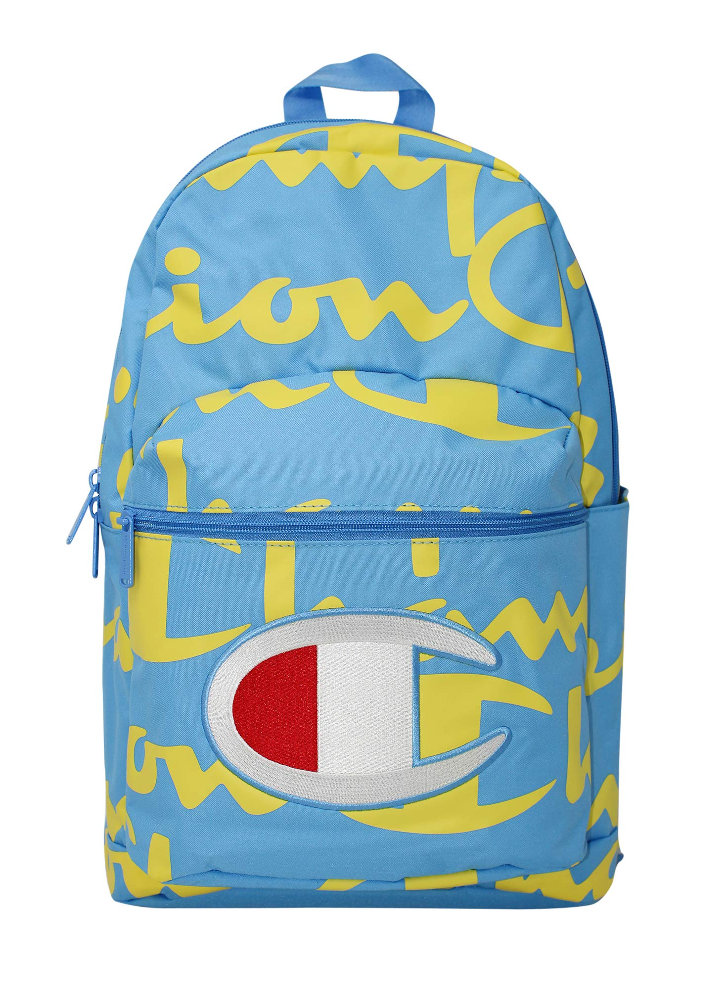 Champion Men's SuperCize Backpack, Blue/Yellow, OS by Champion