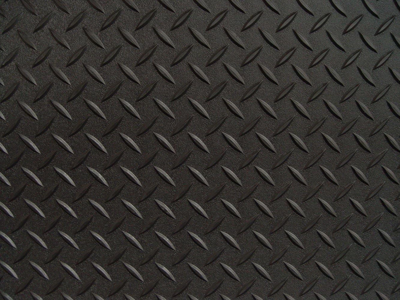 RoughTex 84714 Black Diamond Deck 7.5 x 14 Small Car Mat Various Options Available