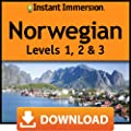 Instant Immersion Norwegian Levels 1,2 & 3 [Online Code]