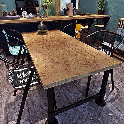 HANMERO® Papel pintado autoadhesivo imitación madera para muebles ...