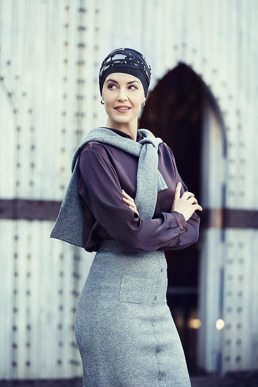 Christine Headwear Shanti Bamboo Turban Stoffturban Kopftuch Chemo-Kopfbedeckung Chemom/ütze