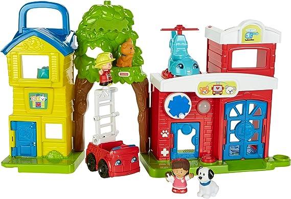 Mattel Fisher-Price fkr62 – Little People Animales de Rescate Station: Amazon.es: Juguetes y juegos