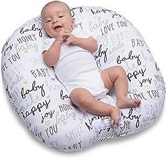 Boppy Newborn Hello Baby Lounger, Black and Gold