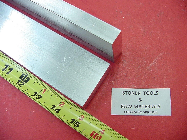 "5//8/"" X 6/"" ALUMINUM 6061 FLAT BAR 14/"" long Solid .625/"" T6511 Plate Mill Stock"