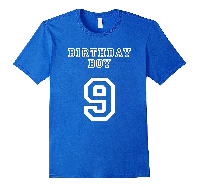 Birthday Boy 9 T Shirt