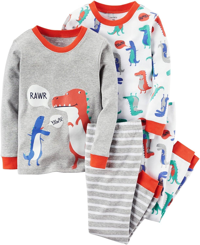 【在庫処分】 Carter 's Baby Boys 4-piece Months Snug Fit Snug 4-piece Cotton PJs ( 2t ) 12 Months B01IR2NFE0, Fun Place:0d74a7d1 --- turtleskin-eu.access.secure-ssl-servers.info