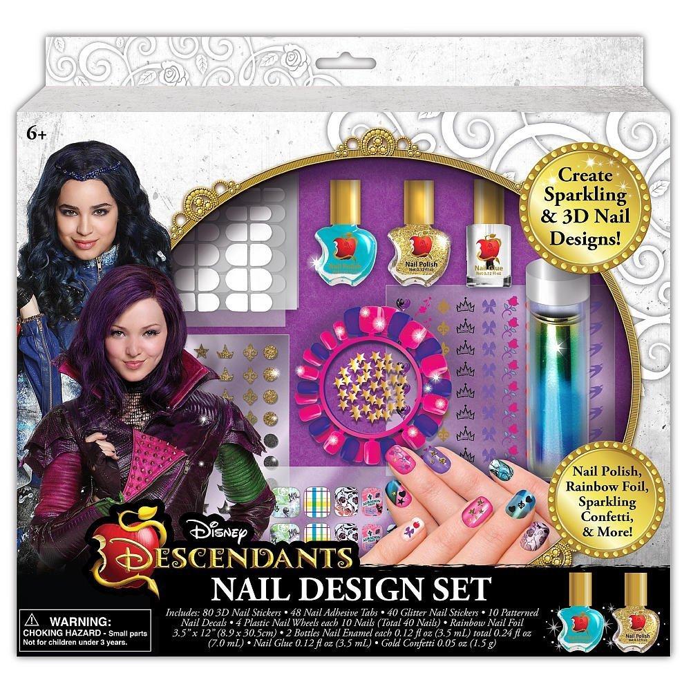 Amazon disney descendants nail design set toys games prinsesfo Images