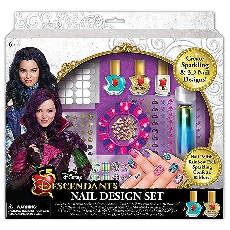 Disney Descendants Nail Design Set - Amazon.com: Disney Descendants Nail Design Set: Toys & Games