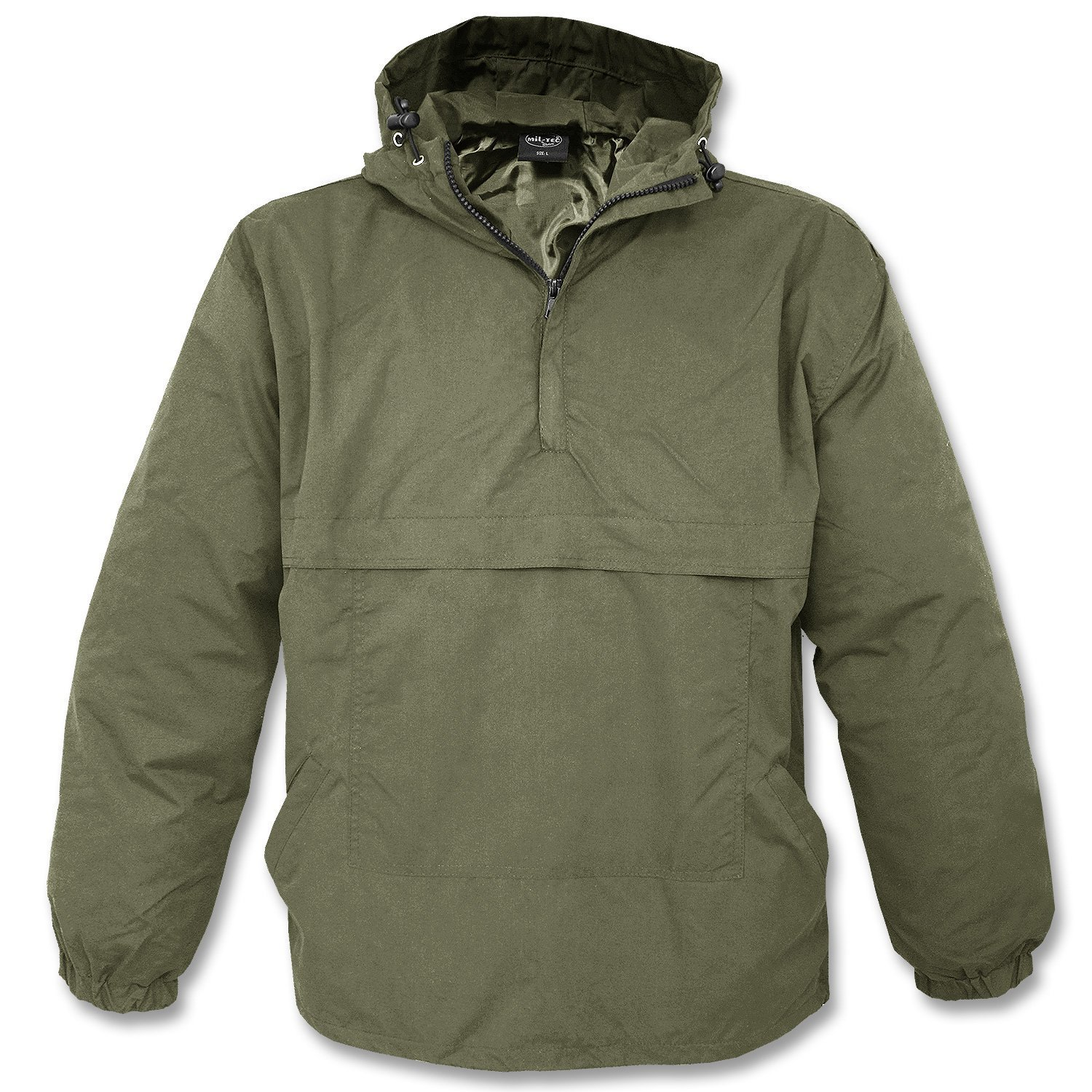 Mil-Tec Combat Summer Anorak Weather Jacket - Olive Drab, Small