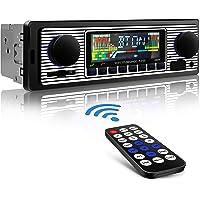 Aigoss Autoradio Bluetooth Radio Coche Manos Libres FM