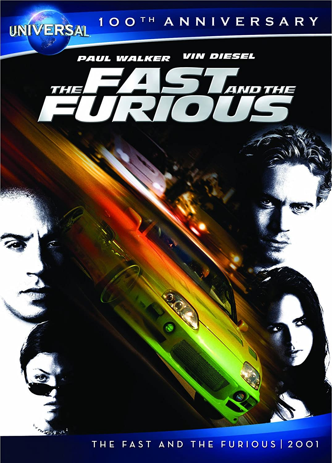Amazon.com: The Fast and the Furious [DVD + Digital Copy] (Universal's  100th Anniversary): Vin Diesel, Paul Walker, Michelle Rodriguez, Jordana  Brewster, ...