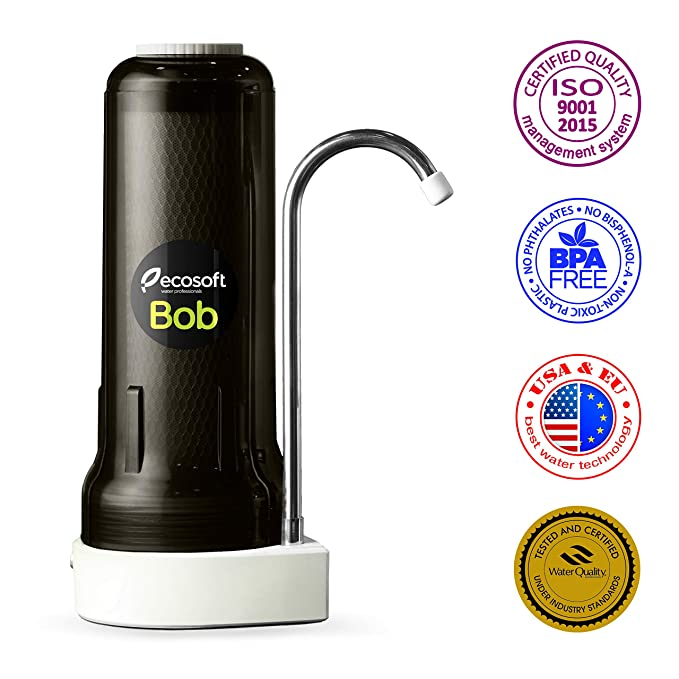 Best Faucet Water Filters: Ecosoft Countertop Drinking Water Filter System