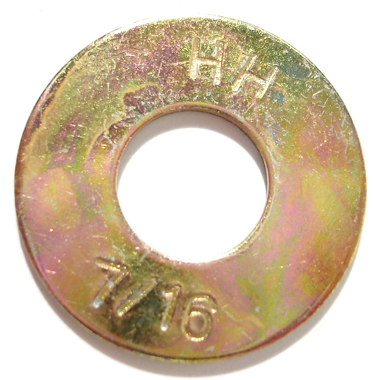 Hard-to-Find Fastener 014973325534 Grade 8 USS Flat Washers 7//16 Piece-228