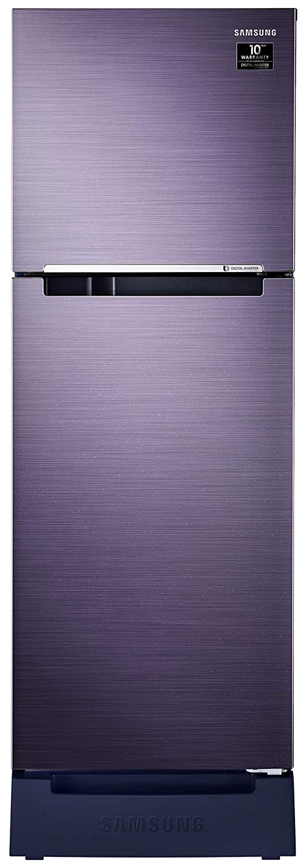 Samsung 253 L 3-Star Inverter Frost Free Double Door Refrigerator – RT28T3483S8/HL