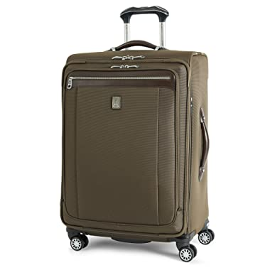 Travelpro Platinum Magna 2 Expandable Spinner Suiter Suitcase, 25-in., Olive