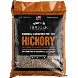 Traeger PEL319 Hickory 100% All-Natural Hardwood Grill Pellets