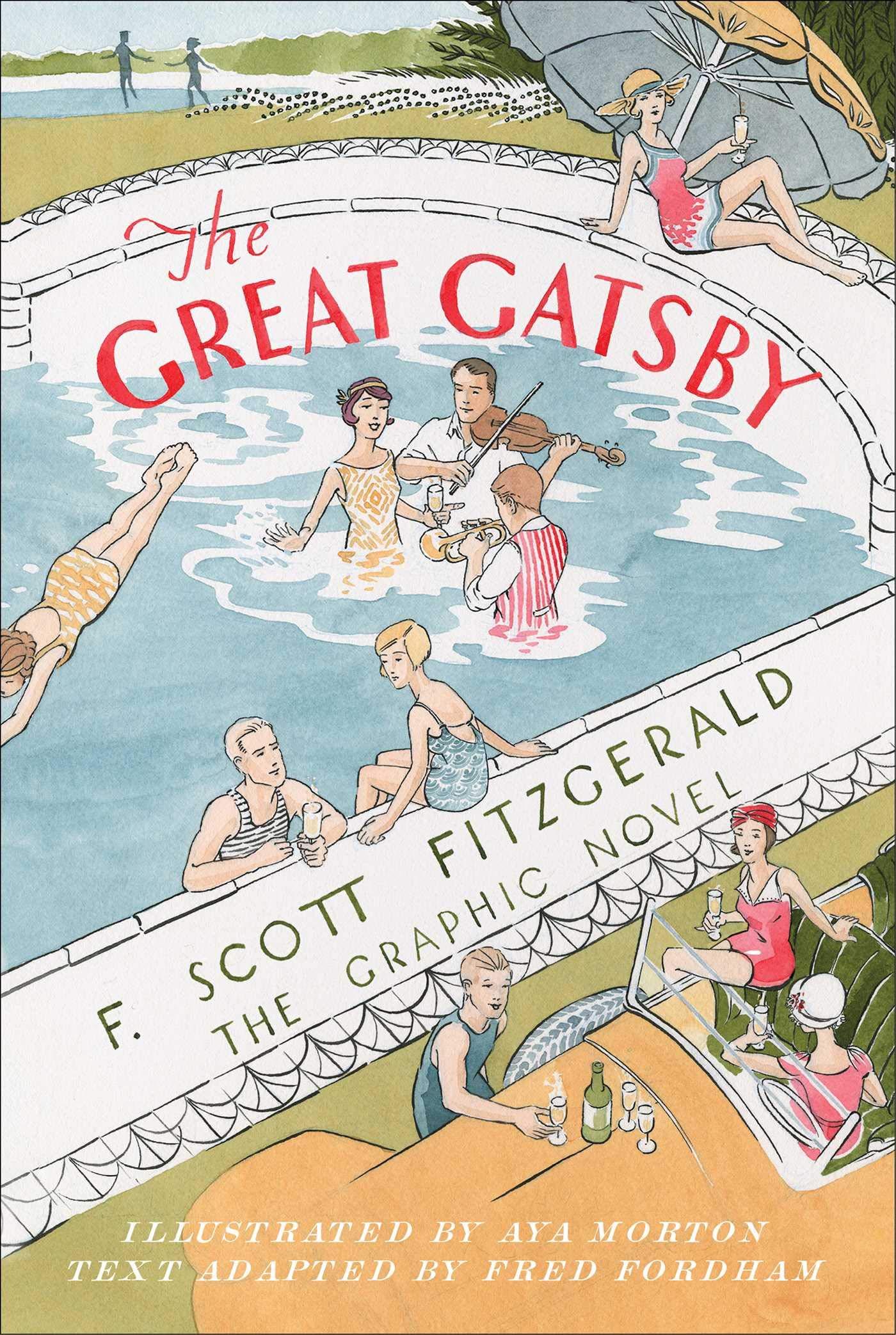 The Great Gatsby: The Graphic Novel: Fitzgerald, F. Scott, Fordham, Fred,  Morton, Aya: 9781982144548: Amazon.com: Books