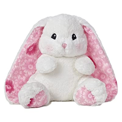 "Aurora World Lopsie Wopsie Bunny Plush, White, 13"": Toys & Games"
