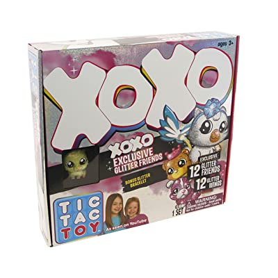 Blip Toys Tic Tac Toy XOXO Exclusive Glitter Friends Collection: Toys & Games