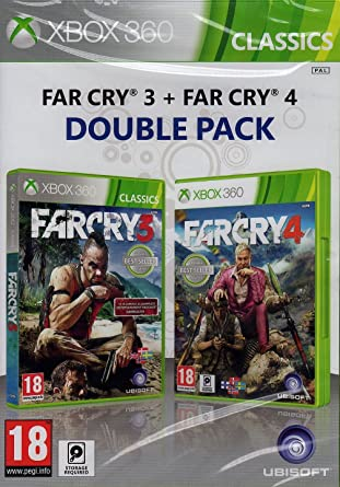 Far Cry 3 Far Cry 4 Double Pack Xbox 360 Amazon Co Uk Pc Video Games
