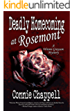 Deadly Homecoming at Rosemont: A Gripping Suspense Novel (Wrenn Grayson Cozy Mystery Book 1)