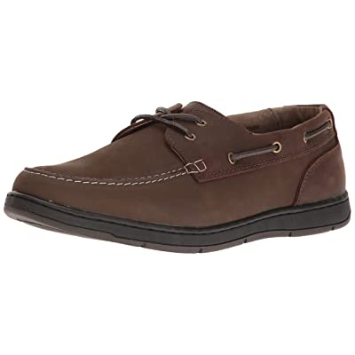 Nunn Bush Men's Schooner Oxford, Dark Brown, M US: Shoes