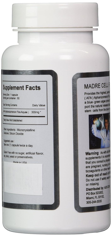 Amazon.com: Madre Cell Plus 50% Más De Aphanizomenon Flos-aquae Mes De Tratamiento Tres (3)  Bioxcell   Celulas Madres   (AFA)  : Health & Personal Care