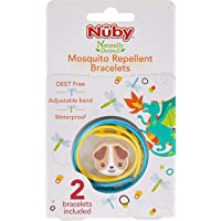 Nuby Mosquito Repellent Bracelet, Small, 2 count