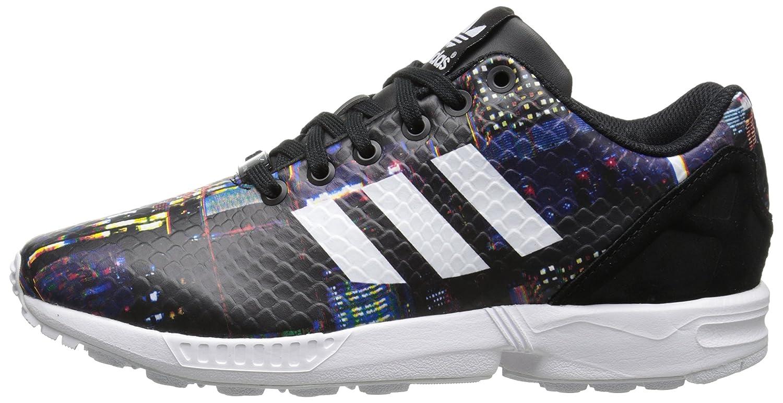 adidas Originals Women's ZX Flux W Lace-Up Fashion Sneaker B00LLSE9Q6 7 M US|Core Black/White/Black