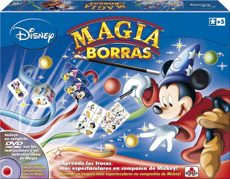 Borras- Magia Edición Mickey Magic, 15 trucos, contiene DVD, a partir de 5 años (Educa 14404): Amazon.es: Juguetes y juegos